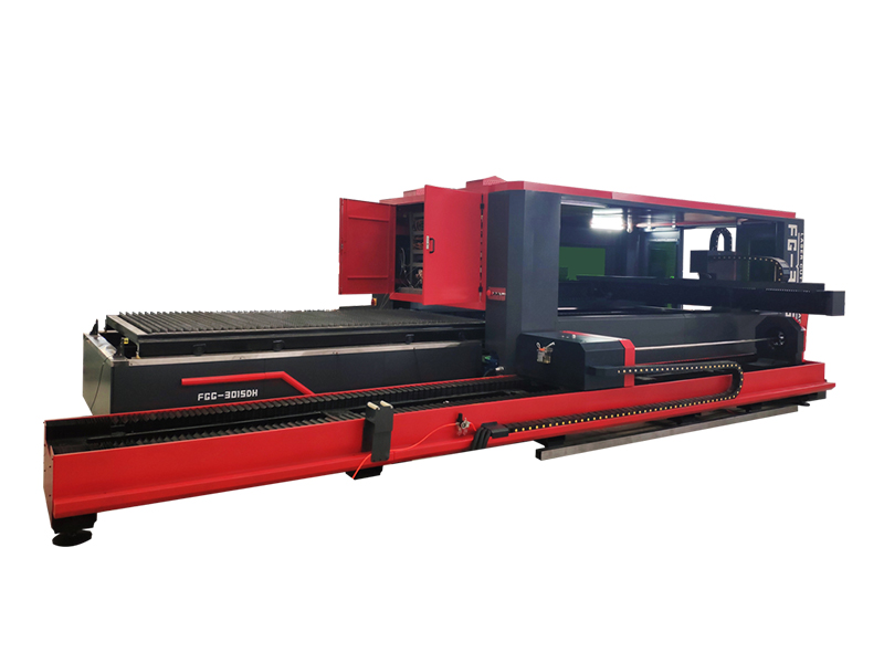 SUDA FG series Big Cover Sheet Metal 3000w Fiber Laser Cutting Machine
