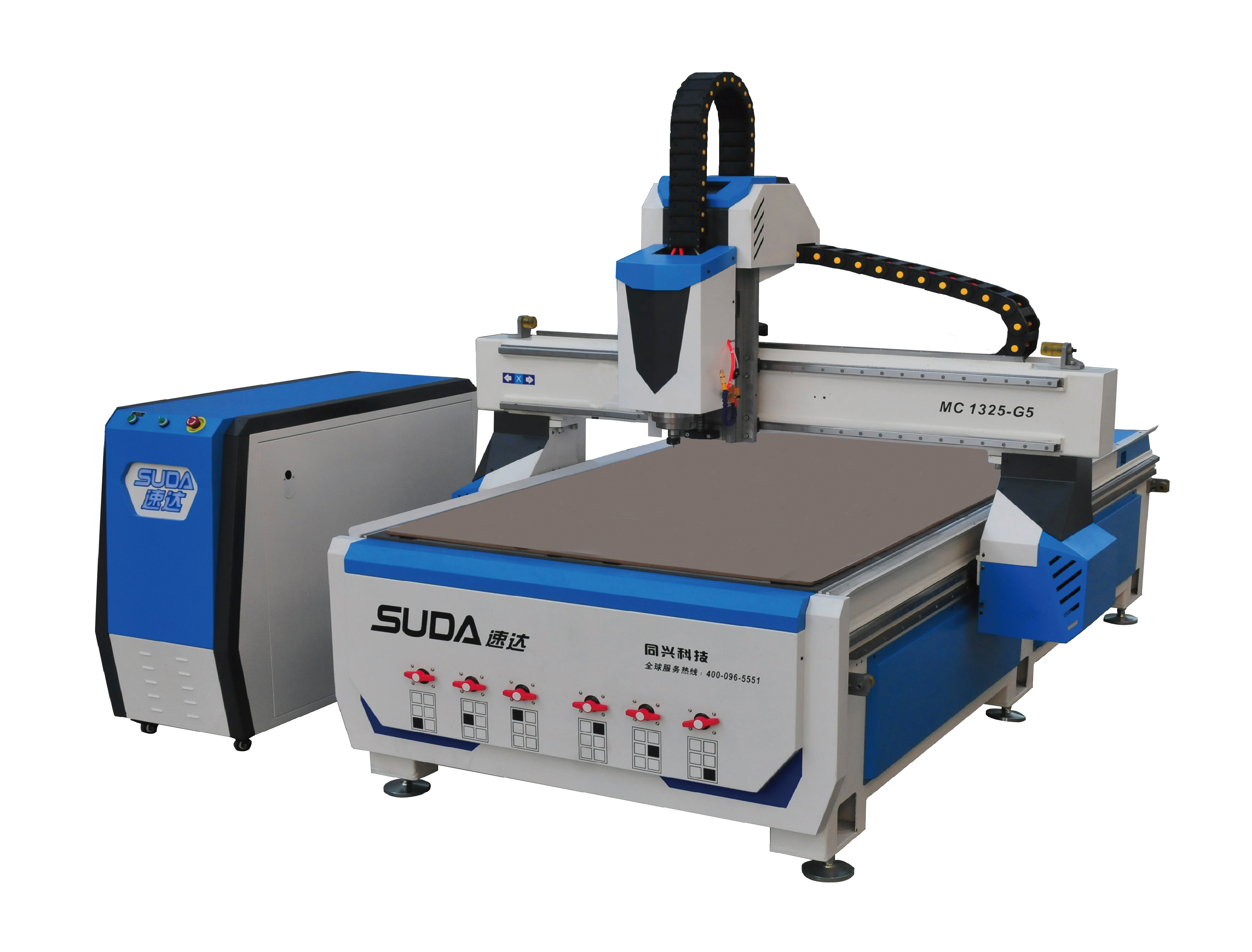 SUDA MC1325-G5 CNC Router with CCD camera